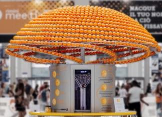 Ο αποχυμωτής που δημιουργεί ποτήρια από πορτοκάλια